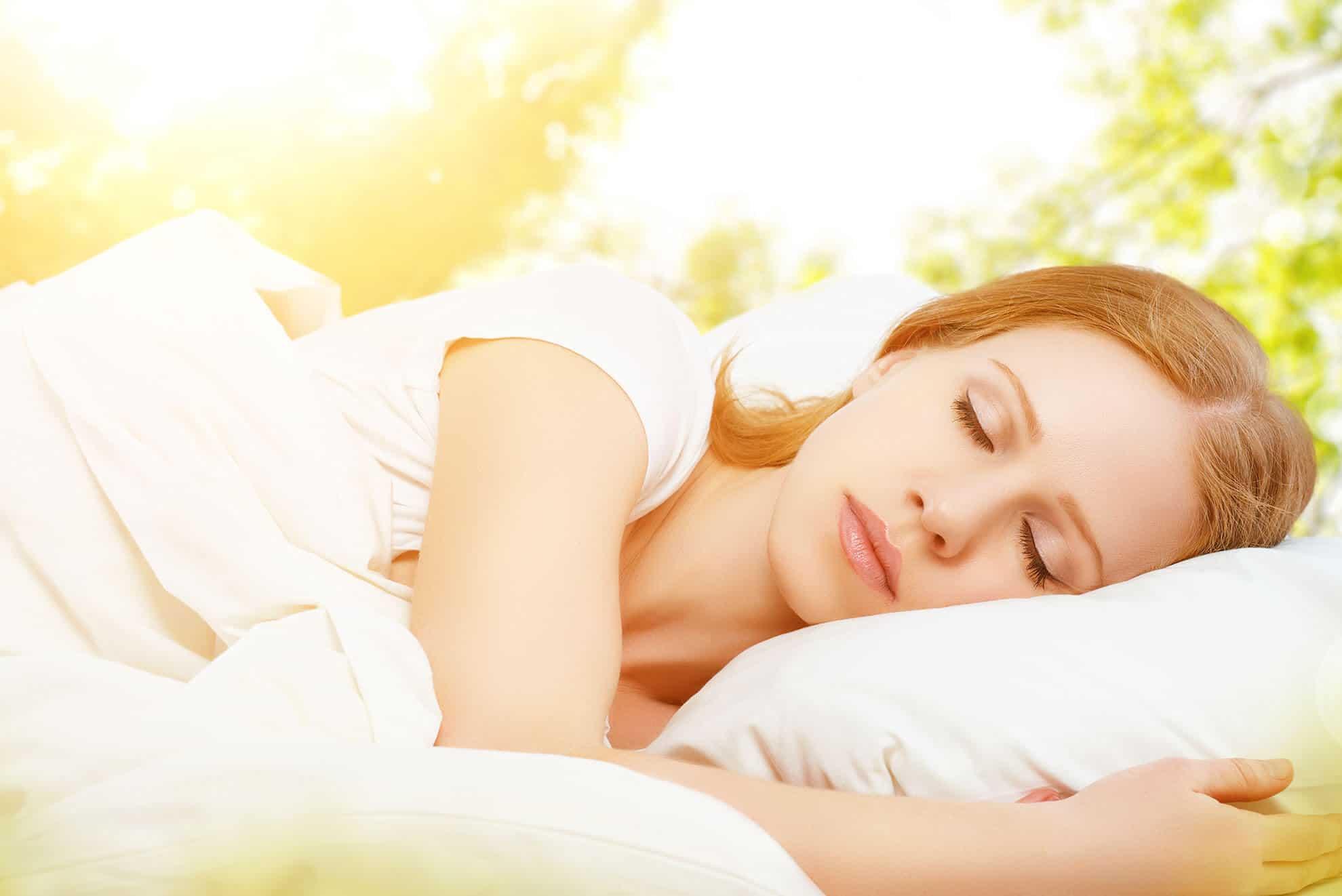Heiße Nacht, kühles Bett